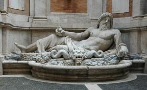 Marforio, statua parlante del Congresso degli Arguti di Roma