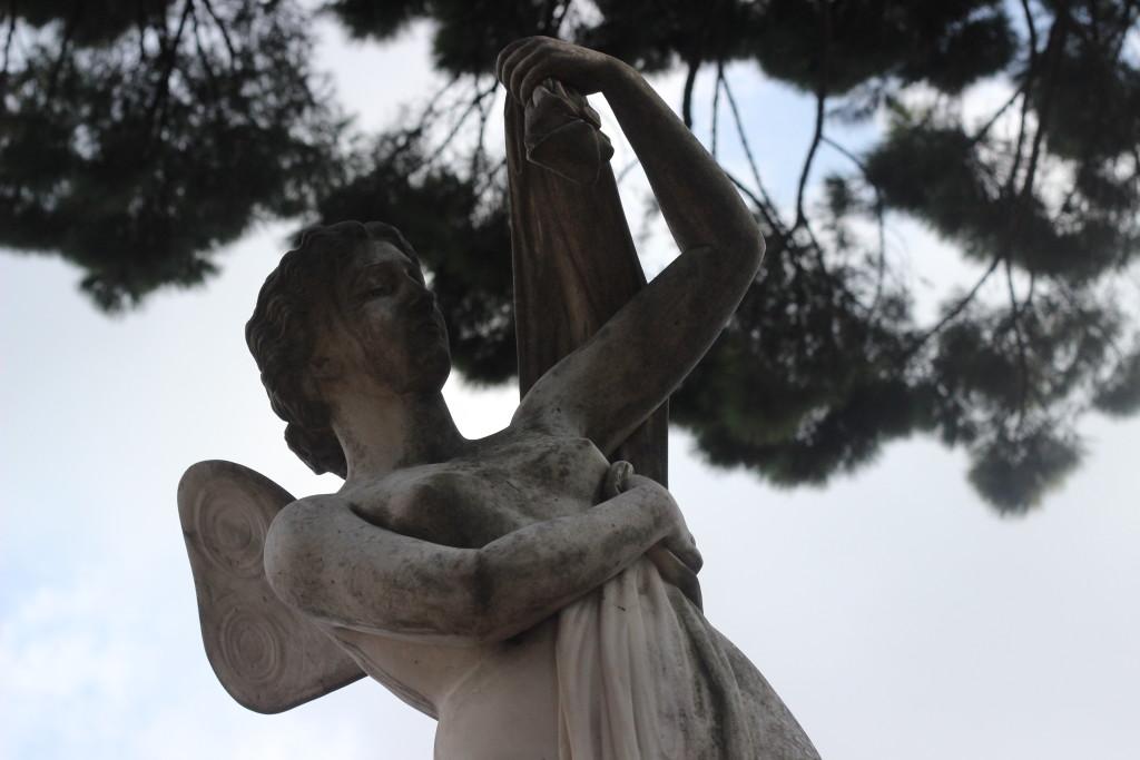 Psiche, il cimitero acattolico