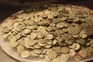 Tesoretto in monete di bronzo, città dell'acqua