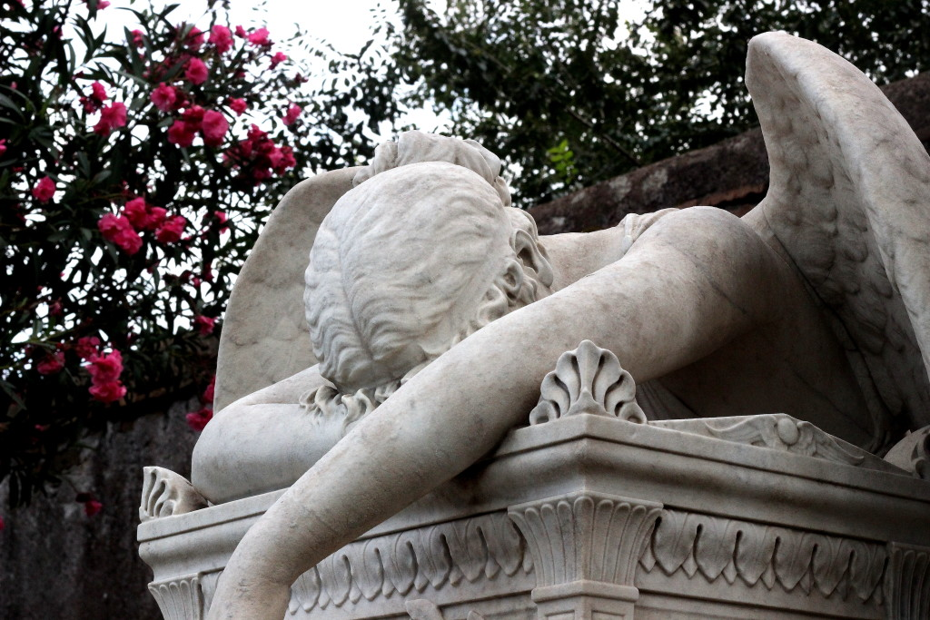 angel of grief, il cimitero acattolico