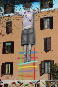 Il bambino redentore, Seth (street art)