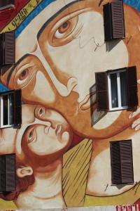 Nostra signora di shangai, street art