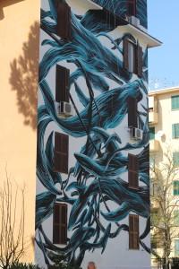 Il ponentino, Pantonio, street art