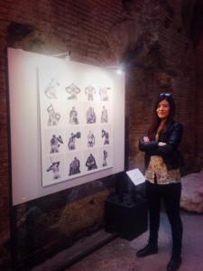 intervista a Martina Biccheri alla mostra Forme