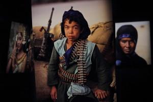 bambino soldato, steve mccurry oltre lo sguardo cinecittà