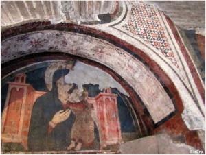 affreschi porta san paolo