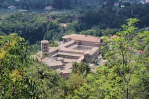 Santa Scolastica vista dall'alto, Subiaco
