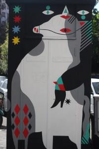 Intervista a Diavù, lo street artist dietro il M.u.Ro