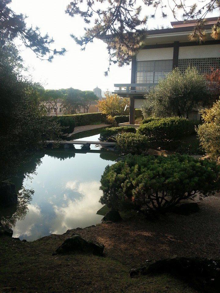 Giardino giapponese di roma esperienza unica neapolis roma for Laghetto giapponese