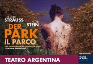 Der Park : ricordando Botho Strauss