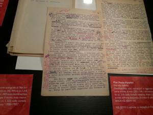 Pasolini e le borgate romane alla Biblioteca Nazionale di Roma