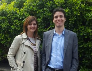 Elio Tomassetti e Martina Carbone
