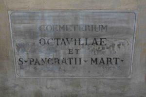 Ingresso catacombe di San Pancrazio