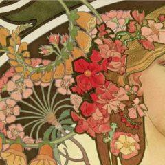 Alphonse Mucha, l'estate romana parla di art nouveau