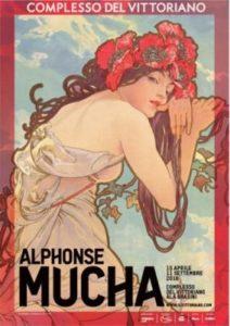Alphonse Mucha poster mostra