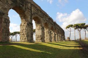 Roma regina aquarum acquedotti