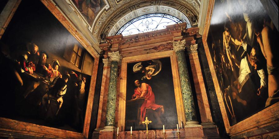 Caravaggio a Roma, San Luigi dei Francesi