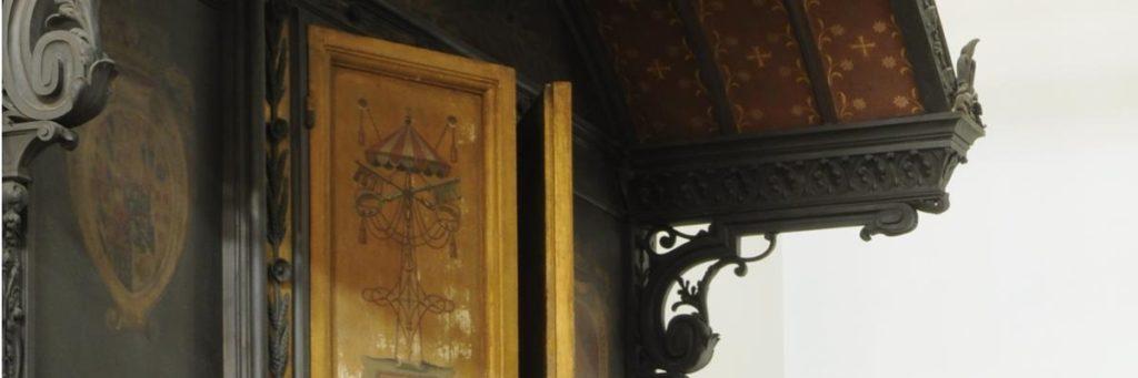 sala del treno di Pio Ix dettaglio