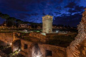 La Torre della Moletta e parte delle gallerie