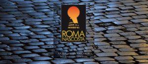 La copertina del libro Roma Nascosta, guida turistica