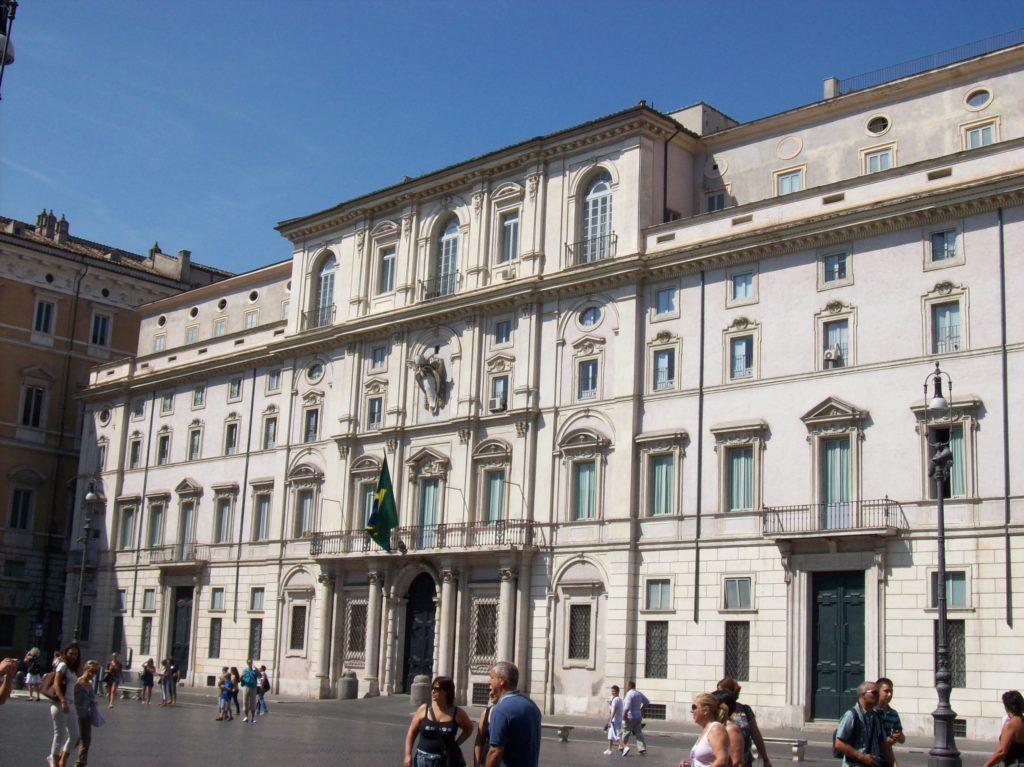 palazzo pamphili a piazza Navona