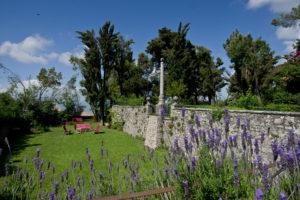 Un'immagine dei Giardini pensili