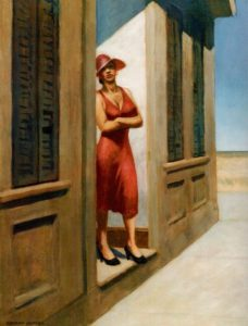 South carolina morning, Edward Hopper Vittoriano