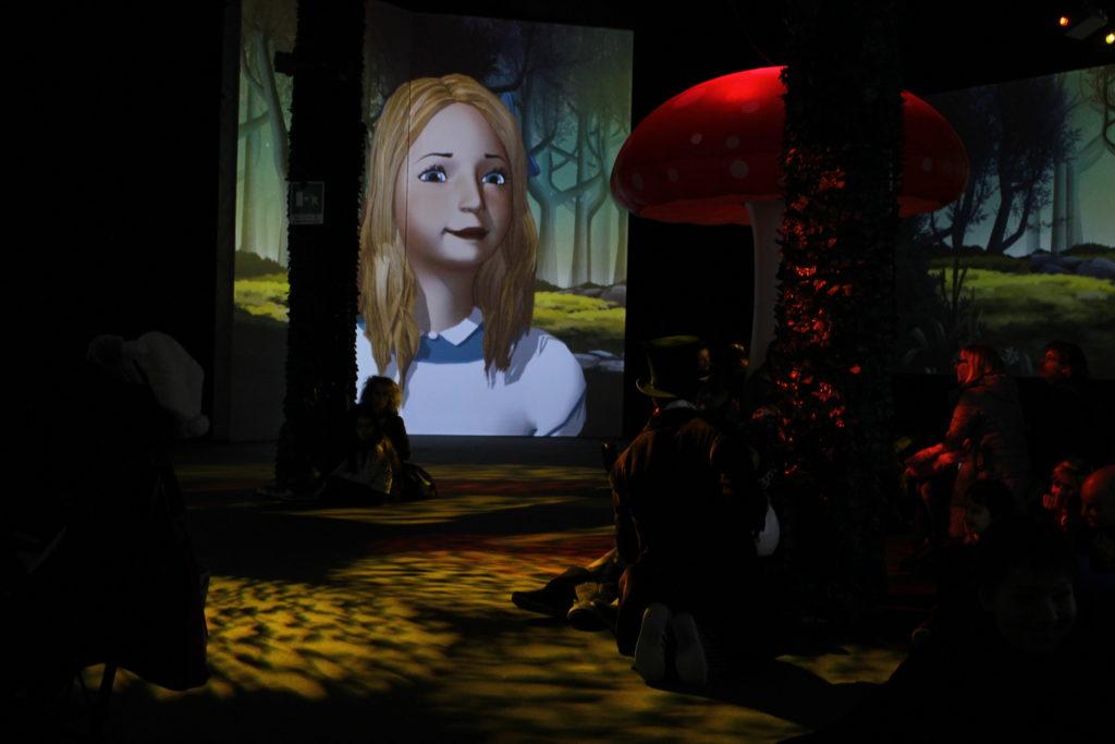 The adventures of Alice, la proiezione