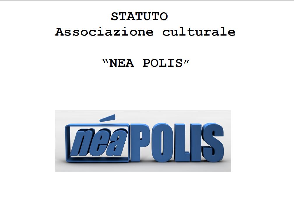 statuto associazione neapolis