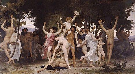saturnali, antesignani del carnevale romano