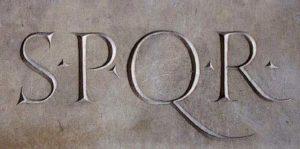 spqr repubblica romana