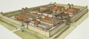 castrum, modello delle città romane