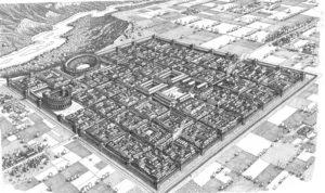 pianta di città romane