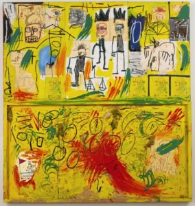 basquiat yellow tar and feather