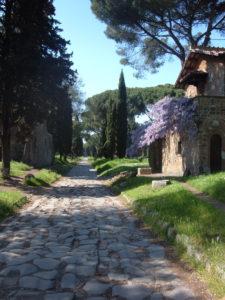via appai regina viarum, strade romane