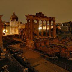 Visita serale ai Fori Imperiali: passato, presente e futuro di Roma