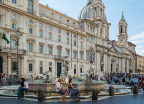 Visita esclusiva a Palazzo Pamphilj, la dimora della Pimpaccia
