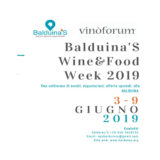 Balduina'S Wine & Food Week 2019