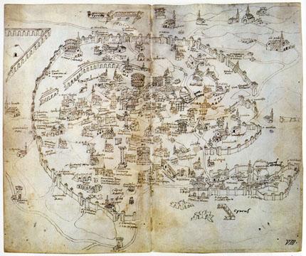 Mirabilia Urbis Romae: la prima guida turistica di Roma