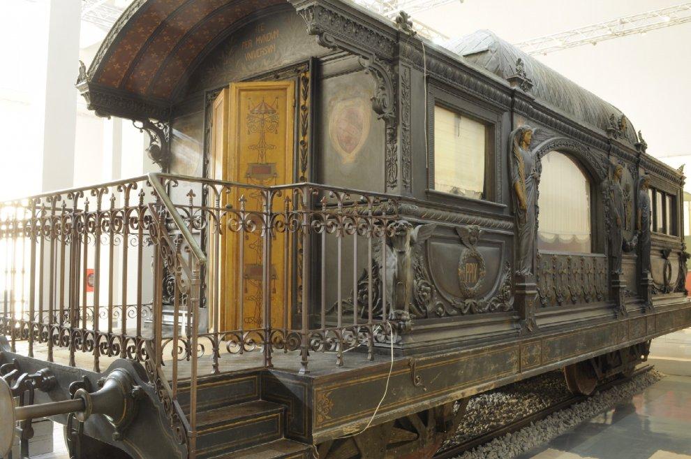 Sala del treno di Pio IX, Roma svela un tesoro in più