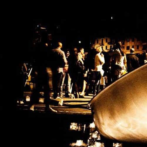 La notte delle candele di vallerano 2019
