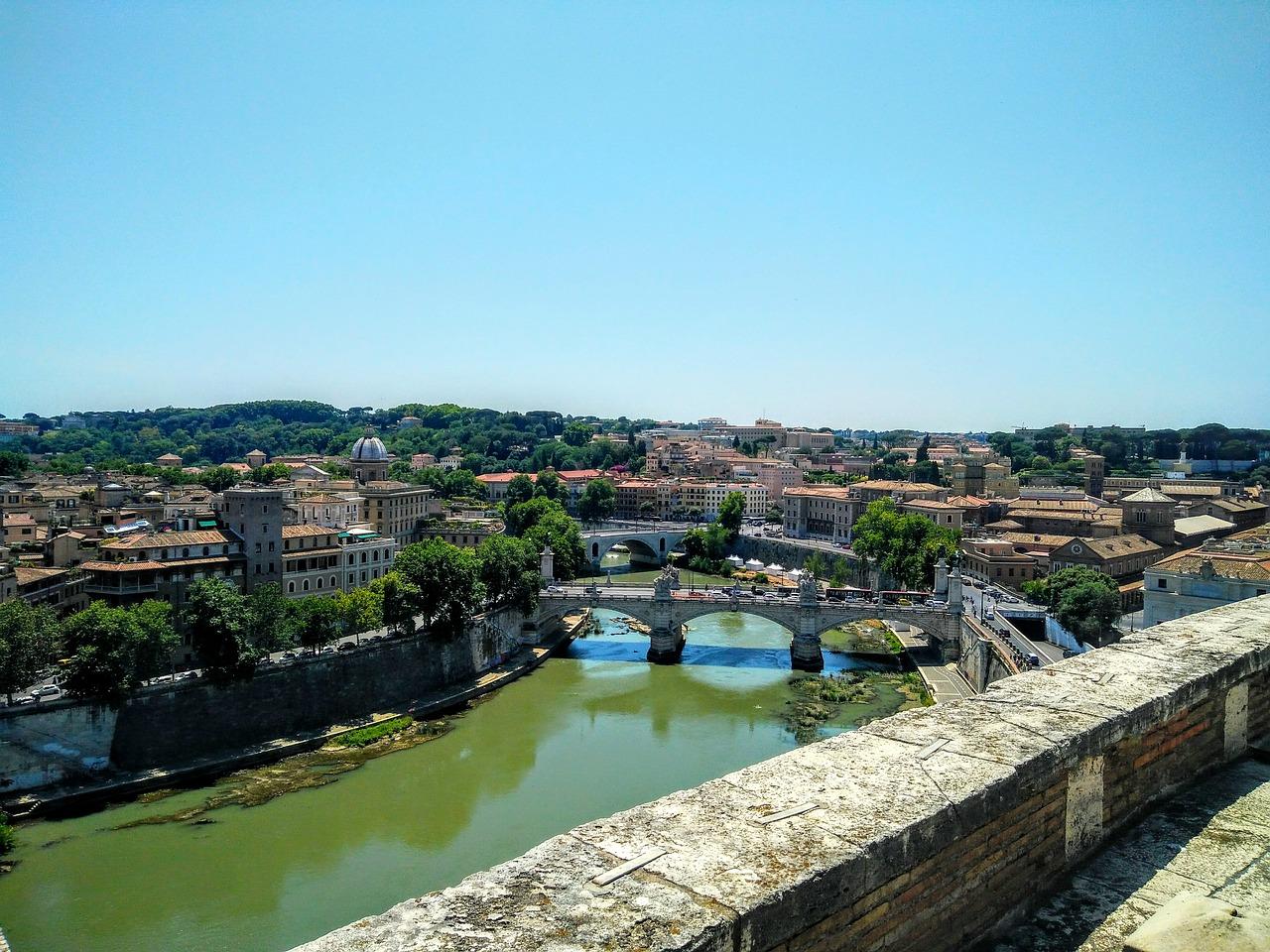 Il Tevere e l'antico porto di Roma
